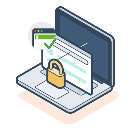 مشاهده پایشگر بررسی گواهینامه SSL